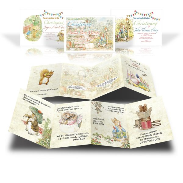 Jemima Puddle Duck Invites