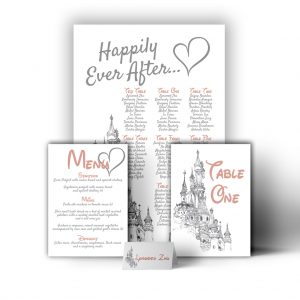 Fairytale Castle Stationary
