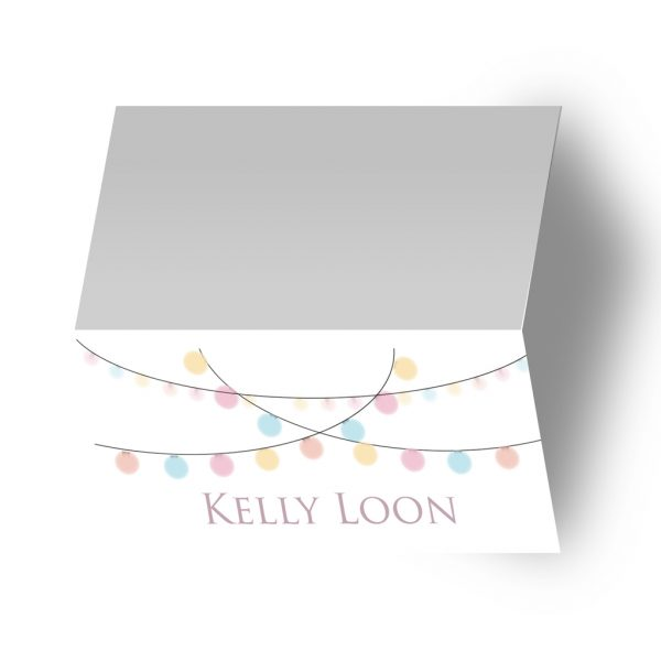 Coloured Festoon Stationary