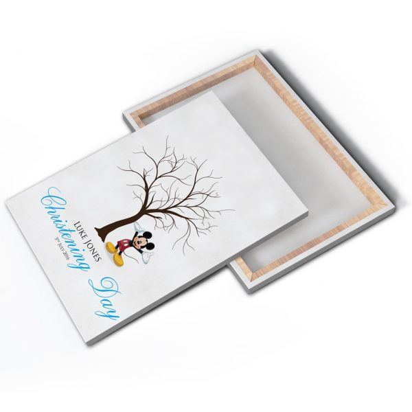 Disney Minnie/Mickey Mouse Fingerprint Tree