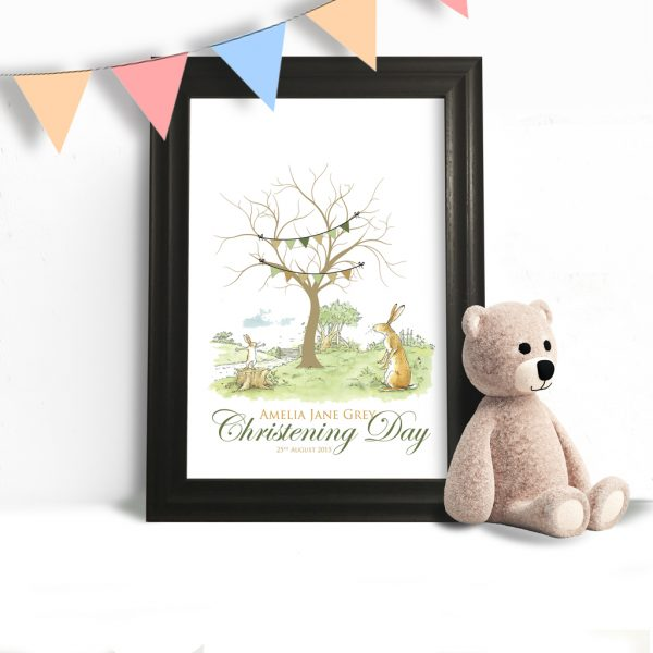 Guess how much i love you Fingerprint Tree
