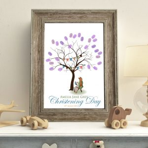 Peter Rabbit Fingerprint Tree