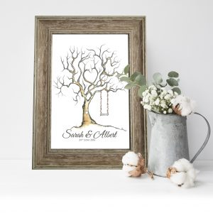 Tree with Swing Fingerprint Tree