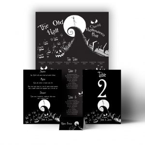 Nightmare Before Christmas Stationery