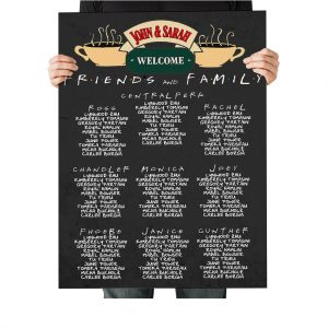 Friends Central Perk Wedding Stationery