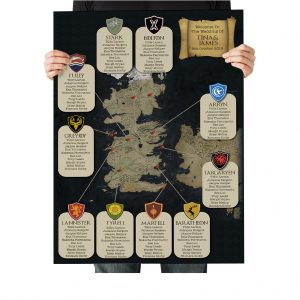 Game of Thrones Wedding Stationary
