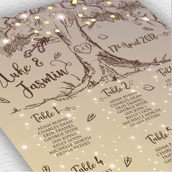 Rustic Tree Stationery